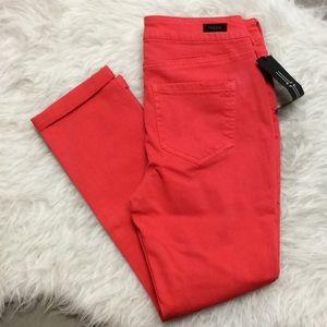 Liverpool Jeans Company cami crop color denim